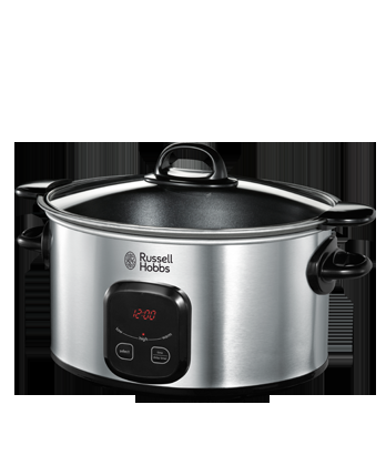 RUSSELL HOBBS SLOW COOKER 6L WITH TIMER malta, appliances malta, household malta, electronics malta, attards households malta